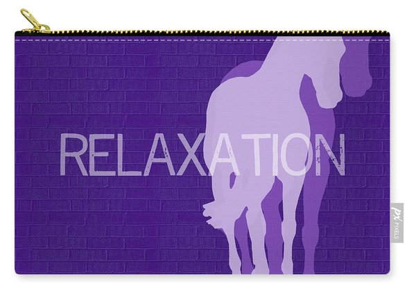 Relaxation Negative Carry-all Pouch