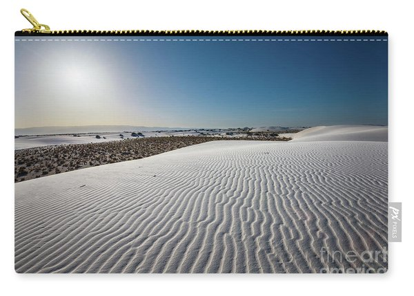 The Unique And Beautiful White Sands National Monument In New Mexico. Carry-all Pouch