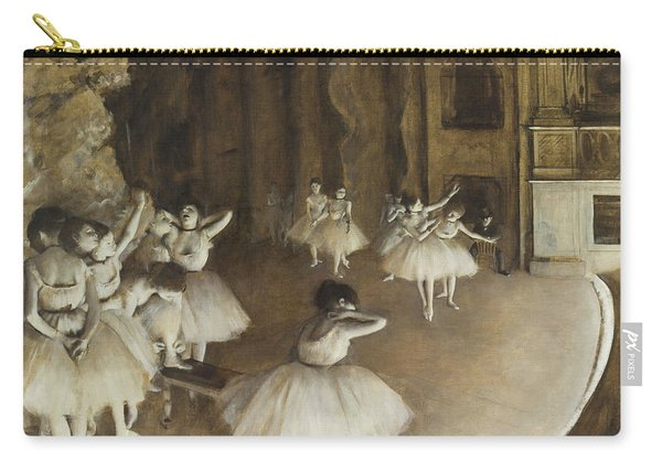 Ballet Rehearsal On Stage Carry-all Pouch