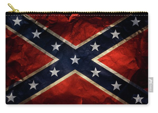 Confederate Flag 9 Carry-all Pouch