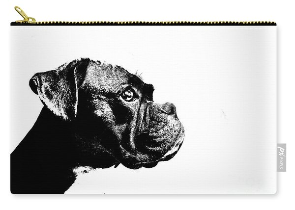 German Boxer Dog Carry-all Pouch