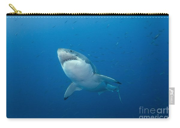 Male Great White Shark, Guadalupe Carry-all Pouch