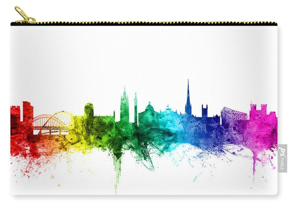 Newcastle England Skyline Carry-all Pouch