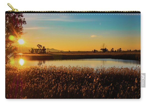 Sunrise In The Ditch Burlamacca Carry-all Pouch
