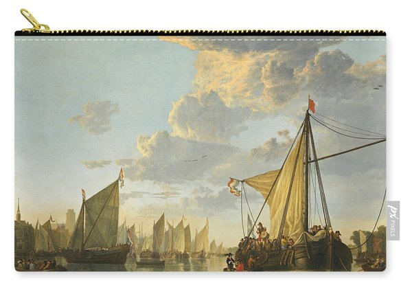The Maas At Dordrecht -- Carry-all Pouch