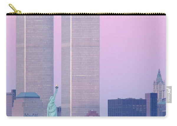 Usa, New York, Statue Of Liberty Carry-all Pouch