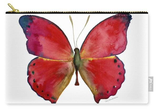 83 Red Glider Butterfly Carry-all Pouch