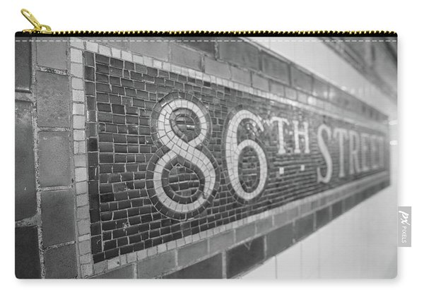 86th Street Subway  Carry-all Pouch