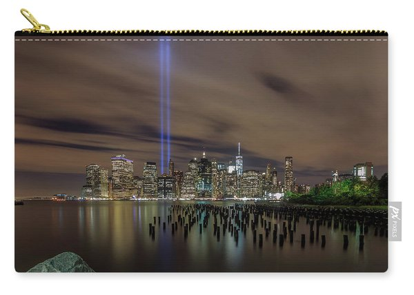 9/11 Tribute Lights 2016 Carry-all Pouch