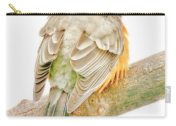 American Robin Male, Animal Portrait Carry-all Pouch