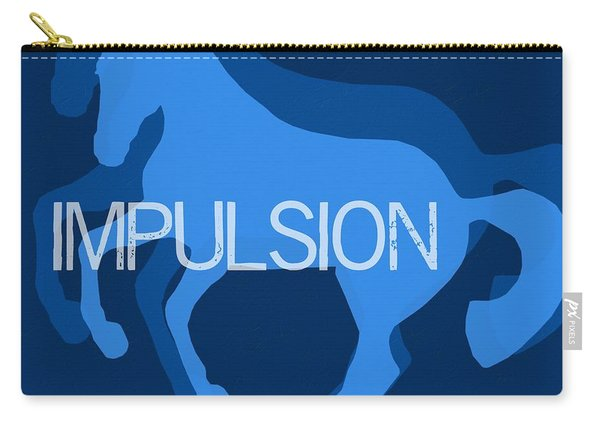 Impulsion Negative Carry-all Pouch