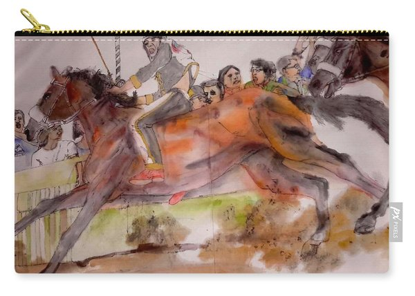 Siena And Their Palio Album Carry-all Pouch