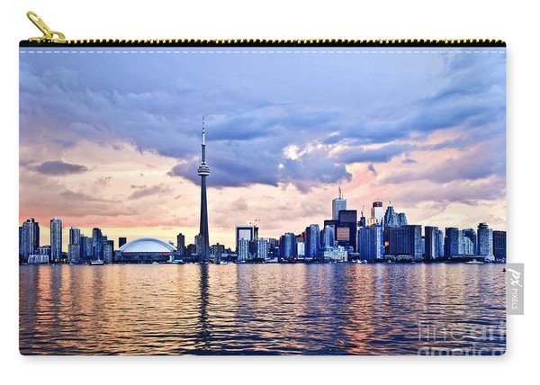 Toronto Skyline Carry-all Pouch