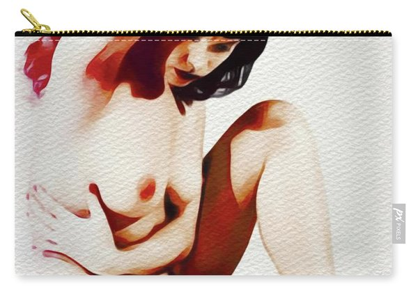 Vintage Pinup Carry-all Pouch