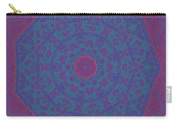 Carry-all Pouch featuring the digital art 9isfine by Robert Thalmeier