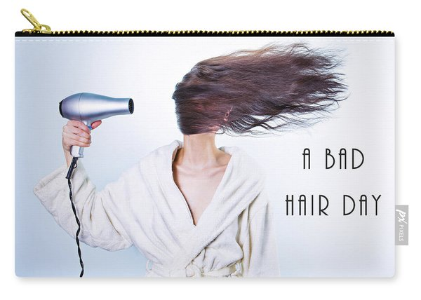 A Bad Hair Day Carry-all Pouch