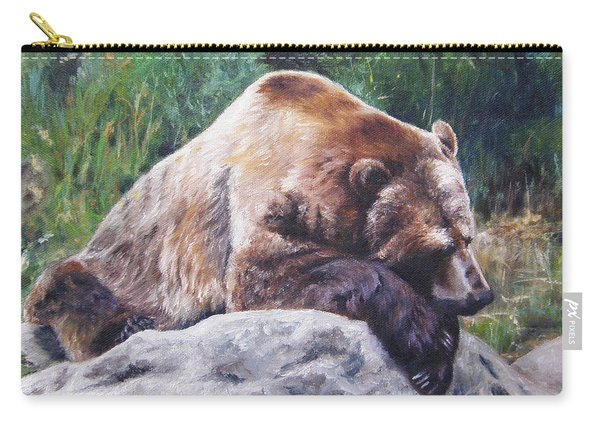 A Bear Of A Prayer Carry-all Pouch