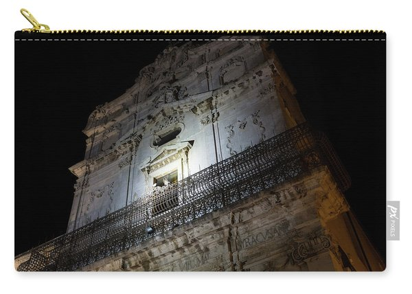 A Beautiful Blend Of Baroque And Rococo - Santa Lucia Alla Badia Church Carry-all Pouch
