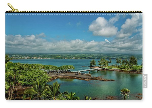 A Beautiful Day Over Hilo Bay Carry-all Pouch