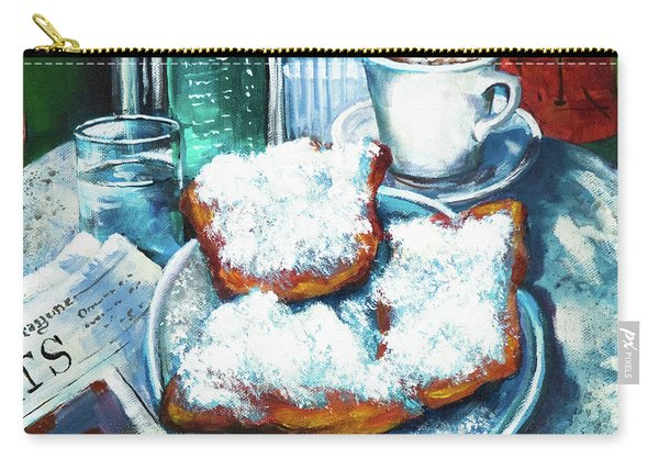 A Beignet Morning Carry-all Pouch