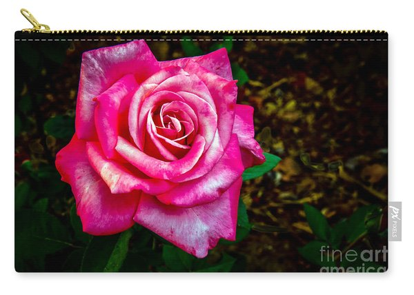 A Bicolor Rose Carry-all Pouch
