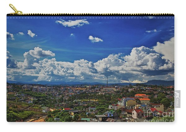 Carry-all Pouch featuring the photograph A Bit Of Disneyland In Dalat, Vietnam, Southeast Asia by Sam Antonio Photography