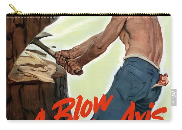 A Blow To The Axis - Ww2 Carry-all Pouch