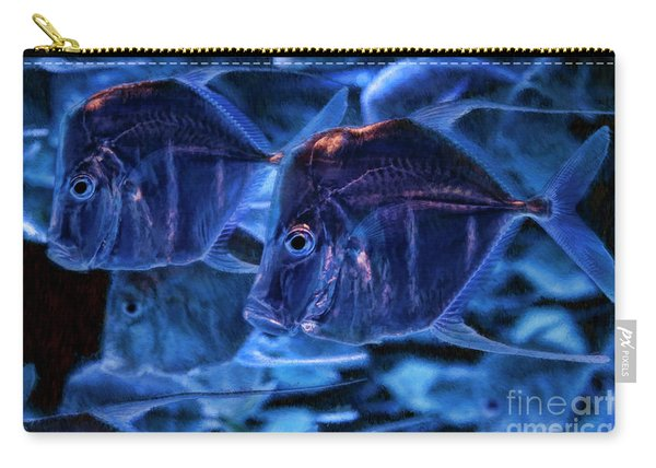 A Blue Swim Carry-all Pouch