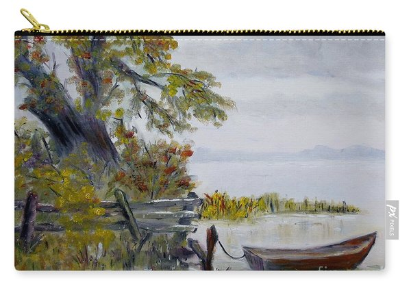 A Boat Waiting Carry-all Pouch