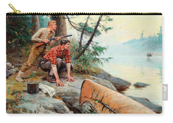 A Break At Dawn Carry-all Pouch