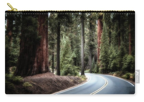 A Bright Future Around The Bend Carry-all Pouch