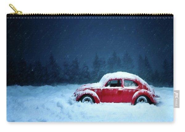 A Bug In The Snow Carry-all Pouch