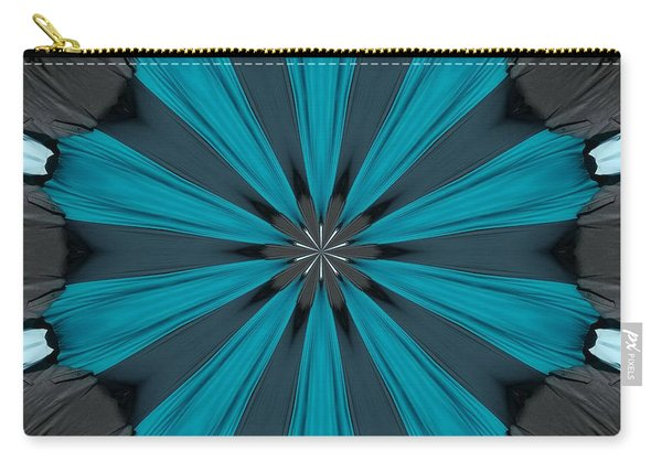 A Burst Of Blue Carry-all Pouch