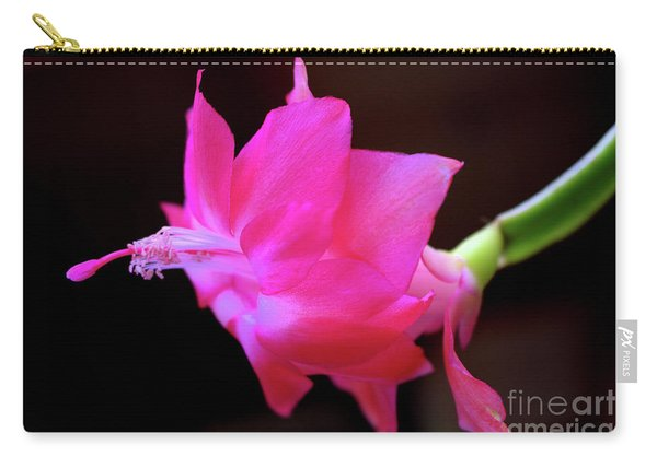 A Cactus Flower Carry-all Pouch