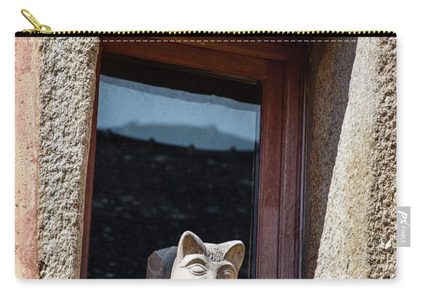 A Cat On Hot Bricks Carry-all Pouch