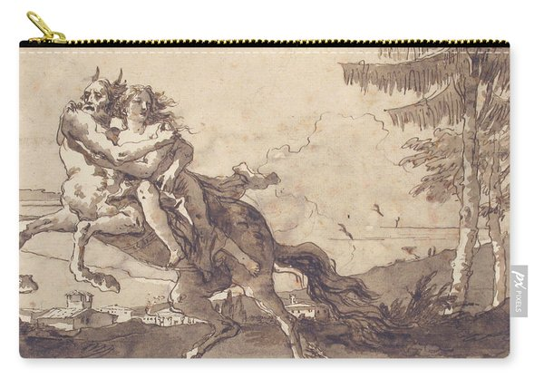 A Centaur Abducting A Nymph Carry-all Pouch
