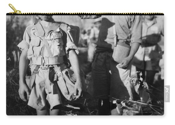 A Chinese Nationalist Soldier Carry-all Pouch