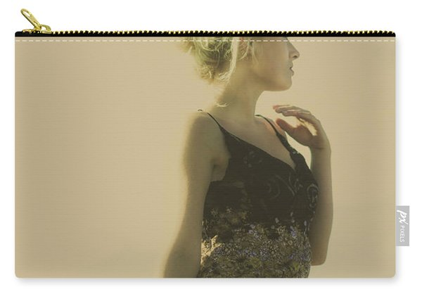 A Classical Beauty Portrait Carry-all Pouch
