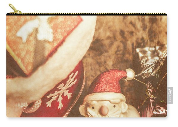 A Clause For A Merry Christmas  Carry-all Pouch
