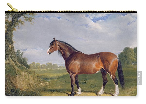 A Clydesdale Stallion Carry-all Pouch