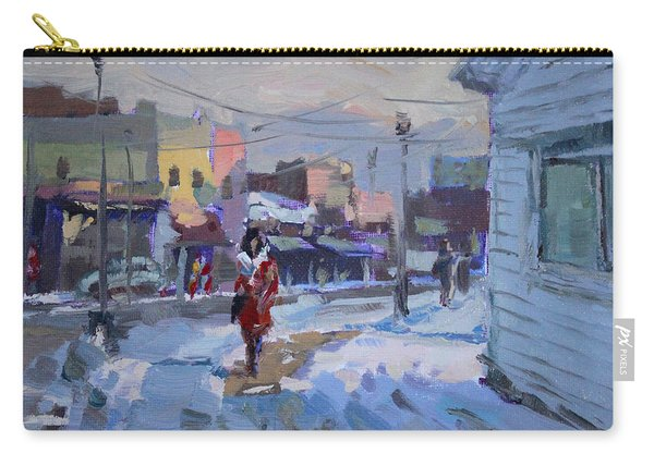 A Cold Afternoon In Tonawanda Carry-all Pouch