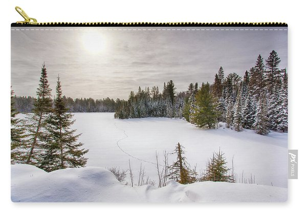 A Cold Algonquin Winters Days  Carry-all Pouch