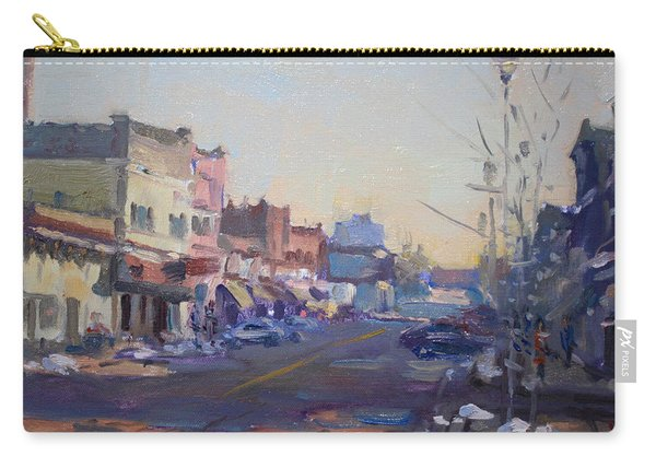A Cold Sunny Day At Webster St Carry-all Pouch
