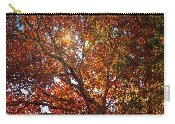 A Colorful Tree In Autumn Carry-all Pouch