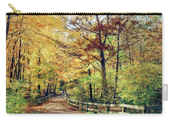 A Colorful Walk Carry-all Pouch