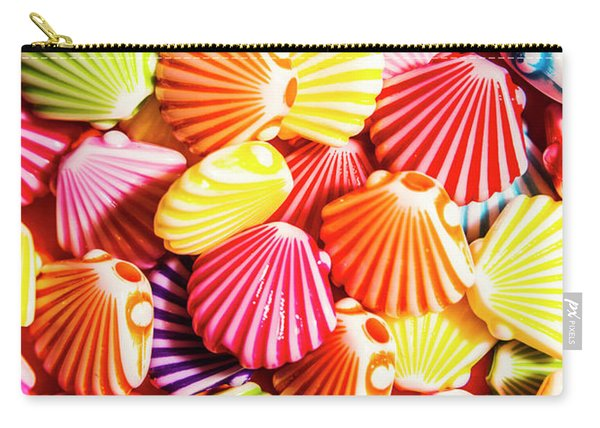 A Colourful Beach Background Carry-all Pouch