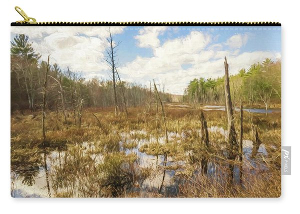 A Connecticut Marsh Carry-all Pouch