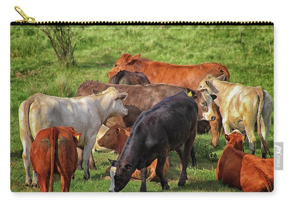 A Cows Backside Carry-all Pouch