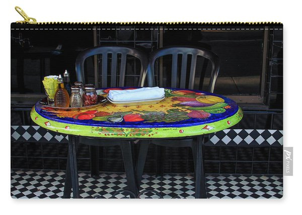 A Cozy Table For Two Carry-all Pouch