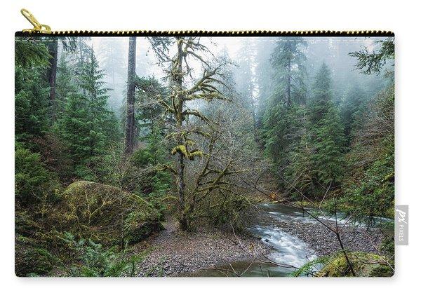 A Creek Runs Through It Carry-all Pouch